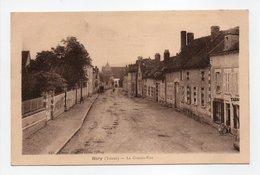 - CPA HÉRY (89) - La Grande-Rue - Edition Virmaux - - Hery