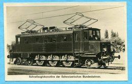 Schnellzuglokomotive Der Schweizerischen Bundesbahnen - Suisse