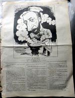 SAINT SAENS CARICATURE ORIGINALE PAR ALFRED PETIT LE CHARIVARI AVRIL 1883 24 X 19 Cm - Musique & Instruments