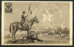 CARTOLINA - CV2567 MILITARI REGGIMENTALI 8° Reggimentro Lancieri Di Montebello, Viaggiata 1910 Da Parma A Milano, Ottime - Reggimenti