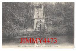 CPA - Chapelle Et Piscine De Saint Cénéré - SAULGES ( Canton De Meslay Du Maine 53 Mayenne - Imp-Phot. A. Dolbeau N°5594 - Meslay Du Maine