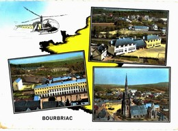CPM* N°2491 - BOURBRIAC - MULTIVUES - Andere Gemeenten