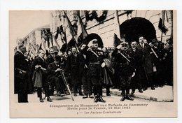 - CPA COMMERCY (55) - Inauguration Du Monument Aux Enfants De Commercy, 13 Mai 1923 - Les Anciens Combattants - - Commercy