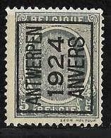 Antwerpen 1924 Typo Nr. 103A - Préoblitérés