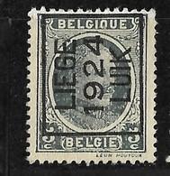 Luik 1924 Typo Nr. 107A - Préoblitérés