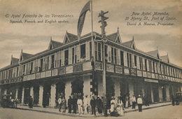Port Of Spain New Hotel Miranda Favorito De Los Venezolanos Undivided Back - Trinidad