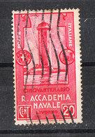 Italia   -  1931. Accademia Navale 20 C. Faro Di Livono. Viaggiato - Fari