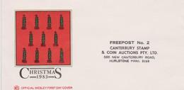 Australia 1983 Wesley FDC Postage Paid - FDC