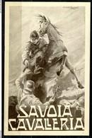 CARTOLINA - CV2587 MILITARI REGGIMENTALI 3° Reggimento Savoia  Cavalleria, FP, Viaggiata In Busta, Ottime Condizioni - Regiments