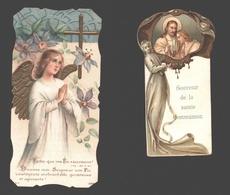 4 X Communieprentje 1910 - 1916 - Image Pieuse / Religious Picture - Communion