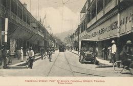 Trinidad   Port Of Spain Frederick Street Edit Wilson Tramway Tram Bus - Trinidad