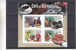 Boissons - Café - Burundi - COB BF 347 ** - MNH - NON Dentelé - Valeur 36 Euros - Burundi