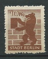 Allemagne -  Zone Sovietique , Berlin    - Yvert N°  4 **  -  Po60022 - Soviet Zone