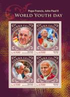 Sierra Leone 2016  World Youth Days, Pope Francis, John Paul II - Sierra Leone (1961-...)