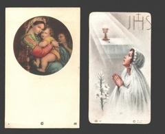 22 X Communieprentje 1950 - 1959 - Image Pieuse / Religious Picture - Communion