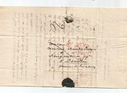 Lettre Complète De LUXEMBOURG Du 23 Novembre 1839 En PD . - Luxembourg