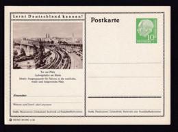 Bund P 24  187 Ludwigshafen   Ungebraucht - Cartes Postales Illustrées - Neuves