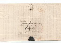 2 Lettres Complètes De  LUXEMBOURG De 1839 Et 7 Janvier 1840. ( La Lettre De 1839, N'a Pas De Marque Postale) !!!! - Luxembourg
