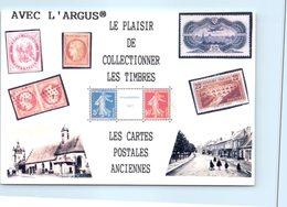 Timbres - L'arfgus - Le Plaisir De Collectionner Les Timbres - Timbres (représentations)