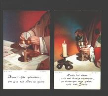 23 X Communieprentje 1960 - 1969 - Image Pieuse / Religious Picture - Communion