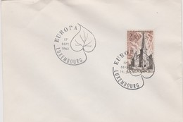 Luxembourg 1962 Europa FDC - FDC