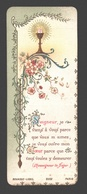 Communieprentje 1898 Collège Notre-Dame Anvers / Antwerpen - Image Pieuse / Religious Picture - Communion