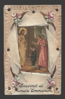 Communieprentje Handgemaakt - Image Pieuse / Religious Picture - Communion