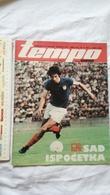 1974 TEMPO YUGOSLAVIA SERBIA SPORT FOOTBALL MAGAZINE NEWSPAPERS WM74 CHAMPIONSHIPS Nataša Šljepica GYMNASTICS OLYMPICS - Deportes