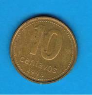 ARGENTINA -  10 Centavos  1993  KM82 - Argentine