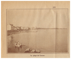 1932 - Iconographie - Carnac (Morbihan) - La Plage - FRANCO DE PORT - Old Paper