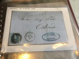 Louvain Ostende 1860 Num.11a - Belgium