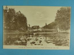 Vallée De L'Amblève La Rivière Au Pont D'Aywaille Eté 1921 - Aywaille