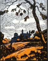 Dép. De La VIENNE - MORTHEMER  - BOIS ORIGINAUX GRAVES Par JEHAN BERJONNEAU EN 1932 - Engravings