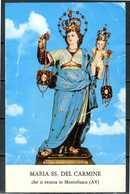 SANTINO - Maria SS. Del Carmine -  Santino Con Preghiera, Come Da Scansione - Santini