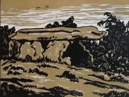 Dép. De La VIENNE - ANDILLE  - BOIS ORIGINAUX GRAVES Par JEHAN BERJONNEAU EN 1932 - Engravings