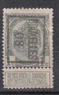 """BELGIË - PREO -1908 - Nr 6 B  Type II - BRUXELLES """"08"""" - (*) - Precancels"""