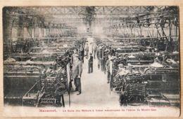 X81148 Usine Du MOULIN-GAU MAZAMET Tarn Salle Des Métiers à Tisser Mécaniques -Victor CARAYOL - Mazamet