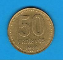 ARGENTINA -  50 Centavos  1994  KM86 - Argentine
