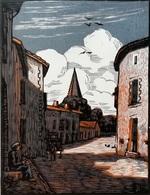 Dép. De La VIENNE - PERSAC - BOIS ORIGINAUX GRAVES Par JEHAN BERJONNEAU EN 1932 - Engravings