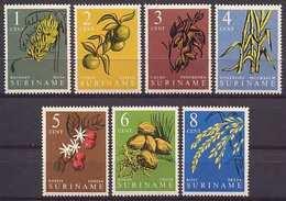 Suriname NVPH Nr 354/360 Postfris/MNH Inheemse Vruchten En Gewassen 1961 Fruits And Plants - Suriname ... - 1975