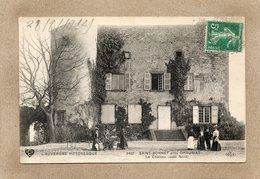 CPA - Environs De CHAURIAT (63) SAINT-BONNET - Aspect Du Château En 1912 - France
