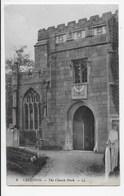 DC 1374 - CREDITON - The Church.Porch  - LL 9 - England