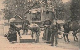 FOS - Arrivée Du COURRIER D'ESPAGNE - La Visite De La DOUANE - Autres Communes
