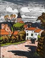 Dép. De La VIENNE - SAULGE  - BOIS ORIGINAUX GRAVES Par JEHAN BERJONNEAU EN 1932 - Engravings