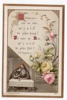 SOUVENIR DE PREMIERE COMMUNION JEAN DU BOIS  PETIT SEMINAIRE DE STE CROIX  1897 ORLEANS  GENEALOGIE - Images Religieuses