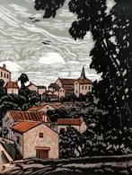Dép. De La VIENNE - LUSSAC-LES-CHATEAUX  - BOIS ORIGINAUX GRAVES Par JEHAN BERJONNEAU EN 1932 - Engravings