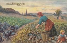 """AK - """"Das ABC Des Landmanns"""" (Die Grundlagen Der Landwirtschaft) 1914 - Landwirtschaftl. Anbau"""