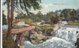 AK - OÖ - Gmunden - Traunfall Mit Restauration - 1909 - Gmunden