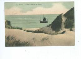 La Panne La Mer à Travers Les Dunes - La Panne Coup D'Oeil à Travers Les Dunes ( 2 Gekleurde Kaarten ) - De Panne