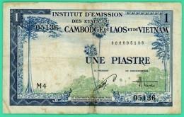 Piastre - Vietnam - Cambodge Laos - N° M4 - 008605136 -  TB - - Vietnam